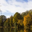 Autumn landscape of lake — Stock Photo #13679576