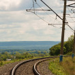 Stock Photo: Railway turn