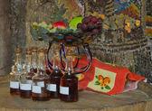 Vinetasting in winery — Stock Photo