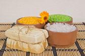 Мыло ручной работы — Стоковое фото