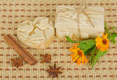 Handmade soap — Stock Photo