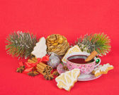 Christmas stilllife — Stock Photo