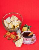 Christmas stilllife — Stock Photo