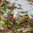 Easter Eggs with snowdrops — Stock Photo #21902957