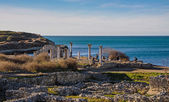 古代都市の遺跡 — ストック写真