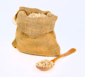 Cereal in the bag — Stock Photo