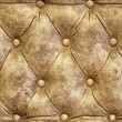 Texture of sofa leather — Stock Photo