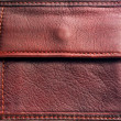 Leather purse — Stock Photo
