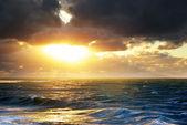 Storm on the sea. — Stockfoto