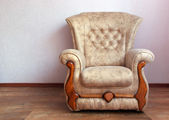 Chair in home — Foto Stock