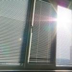 Sunlight through the big window. — Stock Photo #1627909