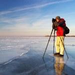Photographer on work  — Stock Photo #18765927