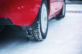 Winter tyres — Stock Photo