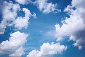 Deep blue sky — Stock Photo