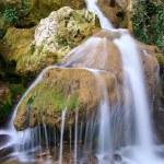 Spring rill flow. — Стоковое фото