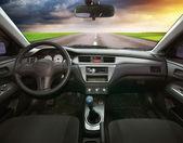 In car — Stock Photo