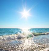 Havet koppla av — Stockfoto
