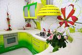 Kitchen indoor — Stock Photo