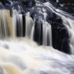 Glenariff wodospady, Hrabstwo antrim, Irlandia Północna — Zdjęcie stockowe