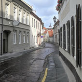 Bernardinu street in Vilnius — Stock Photo
