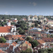 Vilnius old city panorama — Stock Photo