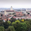 Panorama old town of Vilnius — Stock Photo