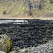 The Giant's Causeway and it's coast in County Antrim — Zdjęcie stockowe