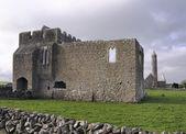 Monasterio de kilmacduagh — Foto de Stock
