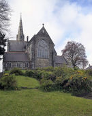 St Patrick's church at Trim city — Stock Photo