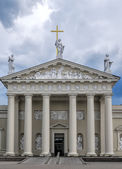 Cathedral church in Vilnius — Stock Photo