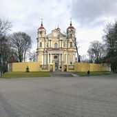Peter and Paul ancient church in Vilnius.  — Stock Photo