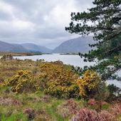 Glenveagh lake — Stock Photo