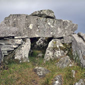 Cloghanmore is a megalithic chamber tomb — Stock Photo