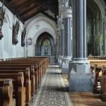 Saint Patrick's Roman Catholic Church interior — Stock Photo #49837929