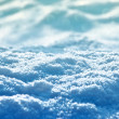 Snow landscape - Stock Photo