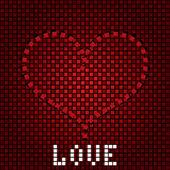 愛の背景 — ストックベクタ