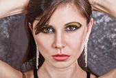 Bellissimo ritratto femmina — Foto Stock