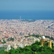 Barcelona City Panoramic view — Stock Photo
