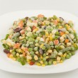 Photo: Mixture of fresh-frozen vegetables