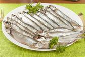 Stockfish capelin — Stock Photo