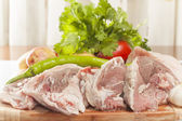Raw lamb meat — Stock Photo