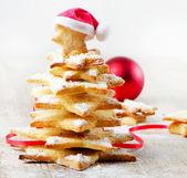 διακοσμημένα κουλουράκια - χριστουγεννιάτικο δέντρο — Φωτογραφία Αρχείου