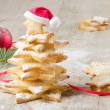 Christmas tree made of cookies — Stock Photo #13647834