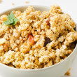 Healthy breakfast - muesli — Stock Photo