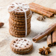 Stack of cookies — Lizenzfreies Foto