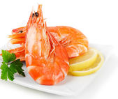 Tiger shrimps — Stock Photo