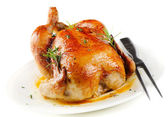 Roasted chicken — 图库照片
