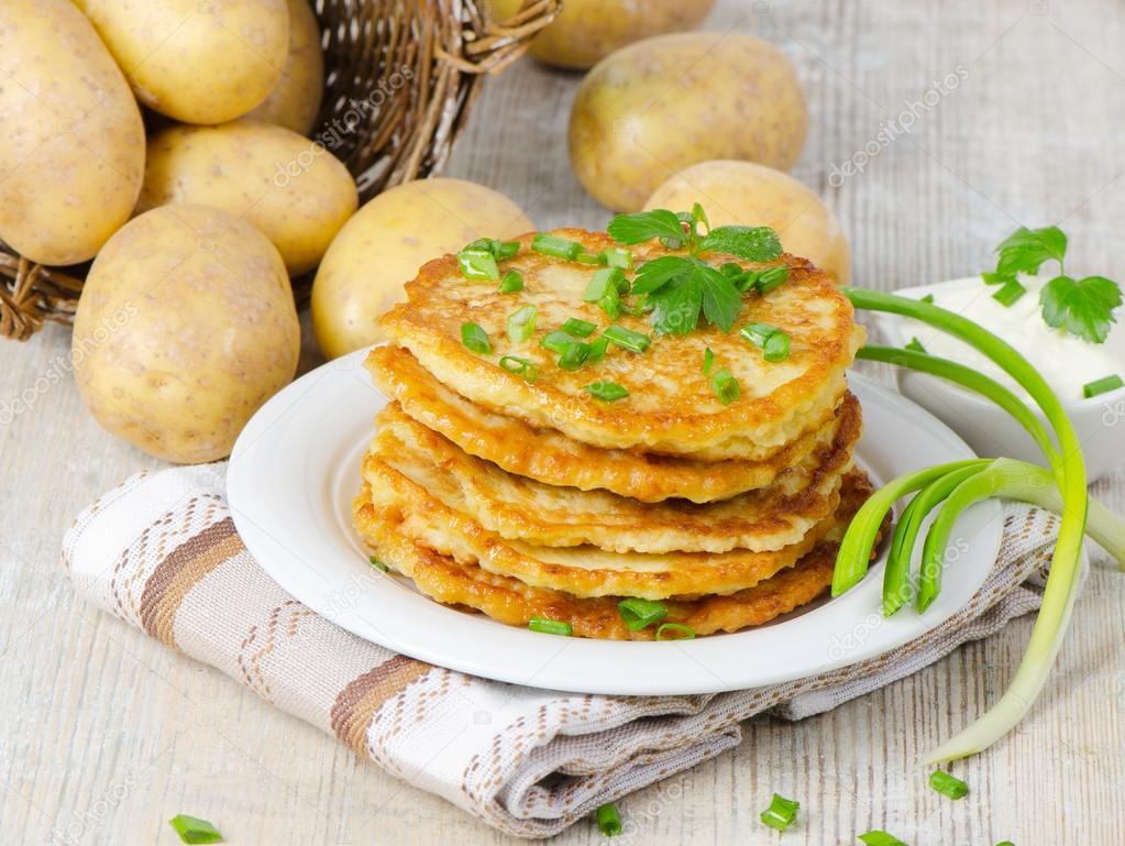 Драники картофельные рецепт для детей пошаговый