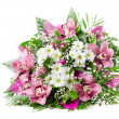 Stock Photo: Beautiful fresh flowers bouquet