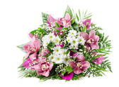 Beautiful fresh flowers bouquet — Stock Photo